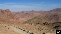 مصر میں واقع سینائی کا علاقہ