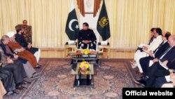 وزیر اعظم پرویز اشرف سے کشمیری رہنماؤں کی ملاقات