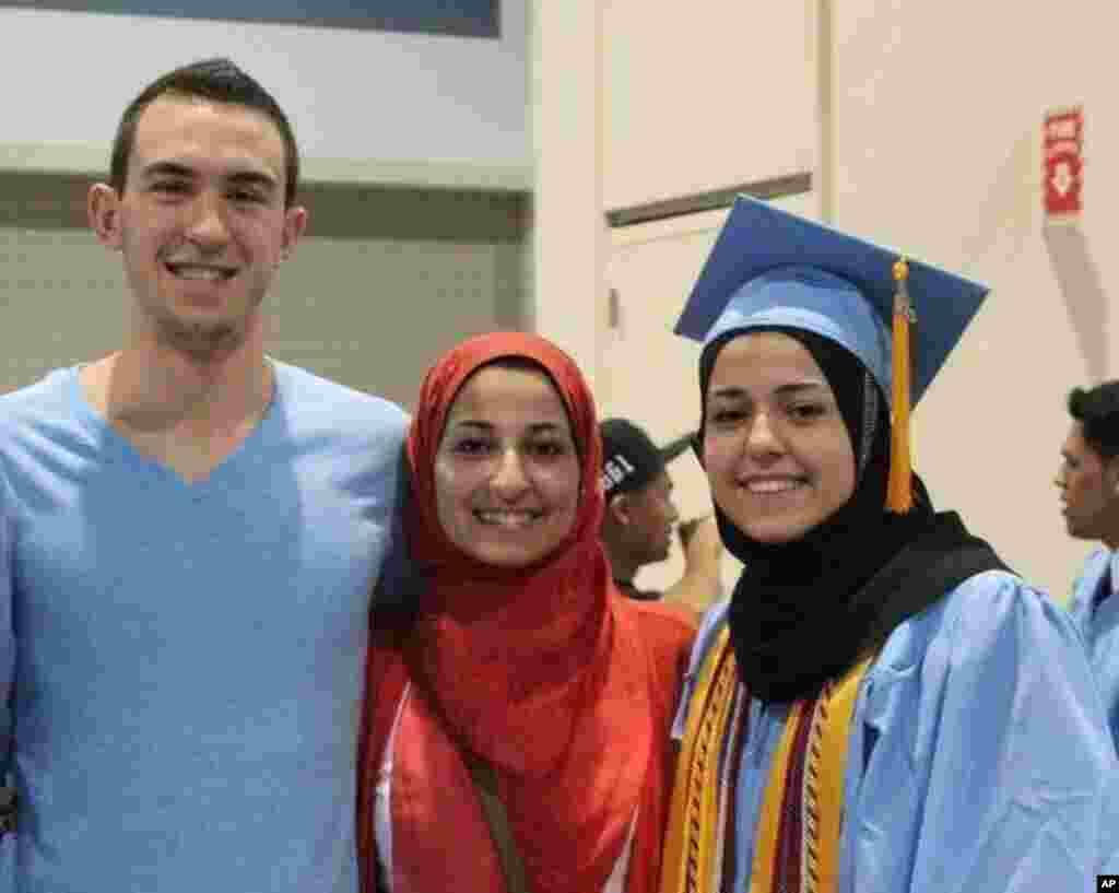 10-fevral kuni uyi oldida o'tib o'ldirilgan musulmon talabalar, Shimoliy Karolina universiteti