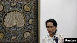 آنگ سان سوچی رهبر دولت میانمار