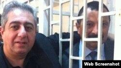 Tofiq Yaqublu və Qubad İbadoğlu (arxiv fotosu)
