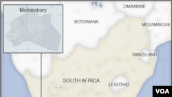 Ramani ya Afrika Kusini