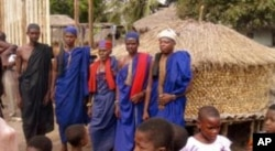"Traditional ""trokosi"" priests /farmers in Akatsi district, Ghana (February 2011)"