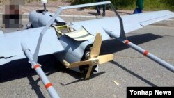 6일 한국 강원도 양양군 강현면 물치리에서 육군이 운용 중인 무인항공기 '송골매'가 추락해 동체 일부가 파손됐다.