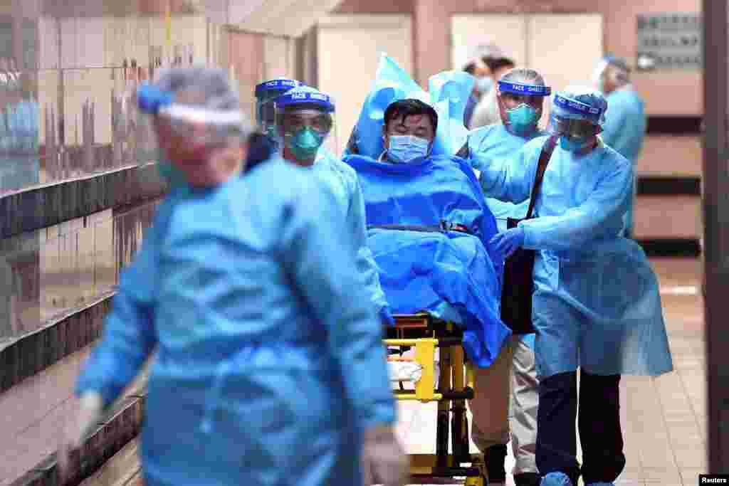 Çin - Koronovirusa yoluxmuş xəstə