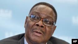 Le président Peter Mutharika du Malawi