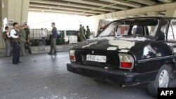 کشته شدن ۱۰ تن در انفجار بمب در دمشق