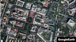 Toshkent markazidagi qiymati bir million dollar atrofida baholanayotgan yer maydoni
