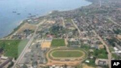 Vista aérea de Cabinda