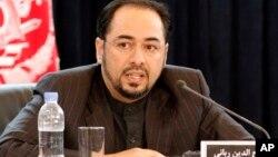 وزیر خارجہ صلاح الدین ربانی (فائل فوٹو)