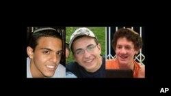Geçen yıl Haziran ayında Batı Şeria'da ölü bulunan üç İsrailli genç