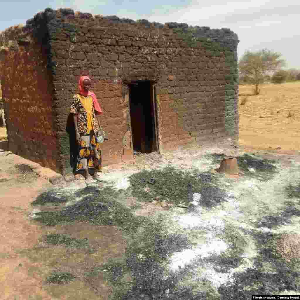 Des campements Peulh détruits par les Koglweogo dans le Centre-Nord du Burkina, 3 janvier 2019.