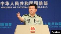 Ren Guoqiang, portavoz del Ministerio de Defensa de China.