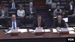 سه تحلیلگر امریکایی در جلسه استماعیه کمیته روابط خارجی مجلس نمایندگان امریکا شرکت کردند.