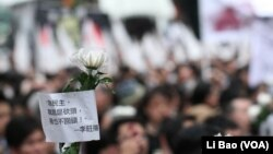 港人普遍对李旺阳离奇死亡感到愤怒