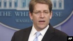 Kakakin fadar shugaban kasar Amurka ta White House, Jay Carney.
