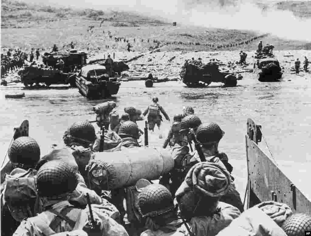 امروز در تاریخ: سال ۱۹۴۴ – پیاده شدن نیروهای ارتش آمریکا در نورماندی. بزرگترین حمله دریایی تاریخ که باعث آزادی غرب اروپا از کنترل نازیها شد.