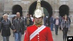 英国伦敦仪队游行的景点