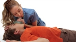 A special mouth covering can be used to give cardiopulmonary resuscitation, or CPR.