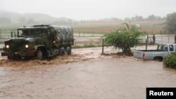 西部科罗拉多州遭受致命洪灾