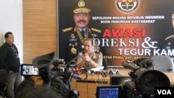 Kepala Biro Penerangan Masyarakat Markas Besar Kepolisian Republik Indonesia Brigjen Boy Rafli Amar. (Foto: Dok)