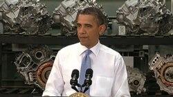 پرزیدنت اوباما درباره اهمیت آموزش و آمادگی برای یافتن شغل در مرکز آموزش خودرو سازی در کالجی در ایالت ویرجینیا - ۸ ژوئن ۲۰۱۱