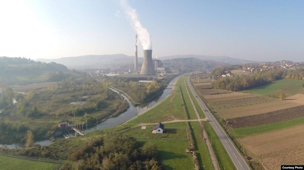 Termoelektrana Ugljevik (Fotografija preuzeta sa Facebook strane Rudnik i Termoelektrana Ugljevik)