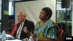 ICC Chief Prosecutor Fatou Bensouda and Stephen Rapp, US Ambassador-At-Large for War Crimes, speak at symposium on Darfur.