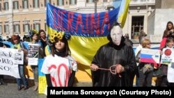 У Римі - протест проти російської інтервенції. ФОТО