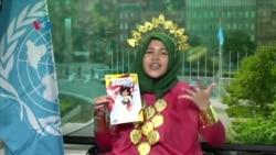 Rizka Ramli Menangkan Kontes Komik UNICEF