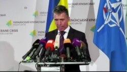 NATO cảnh báo Nga ngưng can thiệp sâu hơn vào Ukraine
