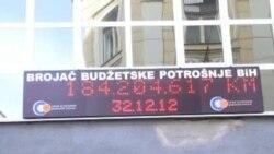 Sarajevo: brojač budžetske potrošnje radi i ove godine