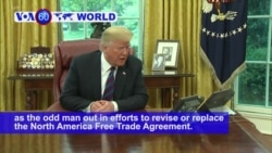 VOA60 World PM - US, Mexico Reach New Trade Agreement