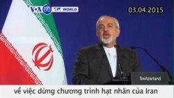 Iran và nhóm P5+1 đạt thoả thuận khung về hạt nhân (VOA60)