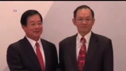 2013-11-07 美國之音視頻新聞: 台灣新加坡簽署經濟伙伴協定