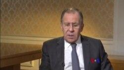 """拉夫羅夫:美英法空襲敘利亞沒有越過""""紅線"""""""
