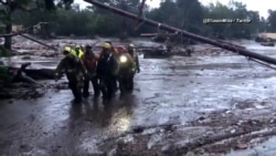 Rescuers Search for Missing People After Deadly California Mudslides