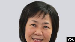 Kelu Chao, directora encargada de USAGM, agencia de medios globales de EE.UU., que incluye a la Voz de América.