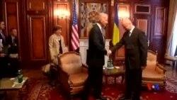 2014-04-22 美國之音視頻新聞: 拜登:美國與烏克蘭共同面對威脅