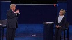 Votantes indecisos opinan en foro de la Voz de América