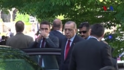 Turkish President Erdogan Watched Violent Clash Near Embassy