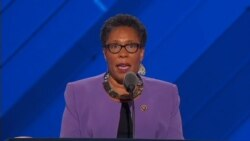 Rep. Marcia Fudge introduces speeches to nominate the presidential candidates