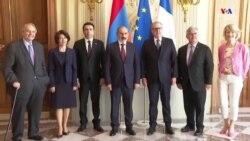 Նիկոլ Փաշինյանը հանդիպեց Ֆրանսիայի Ազգային ժողովի նախագահ Ռիշար Ֆերանի հետ
