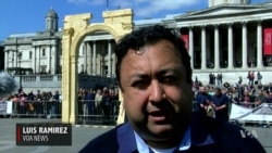 London Displays Palmyra Arch Replica