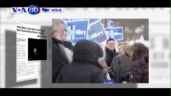 Ban vận động của bà Clinton đẩy mạnh công kích ông Sanders (VOA60)