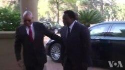 Visite de Joseph Kabila en Afrique du Sud (vidéo)