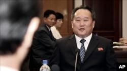 ေျမာက္ကိုရီးယား နိုင္ငံျခားေရးဝန္ႀကီး Ri Son Gwon