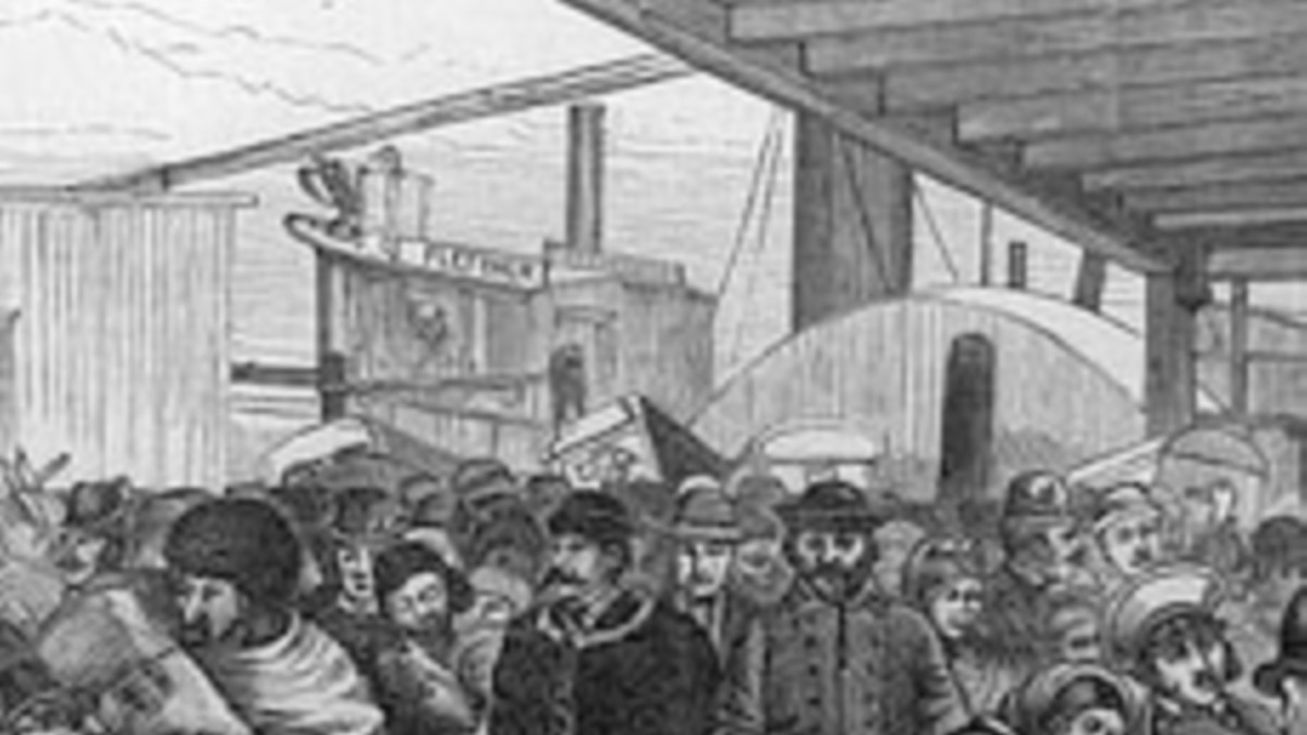 American History Immigrants From Europe Seek A Better Life In A New Land