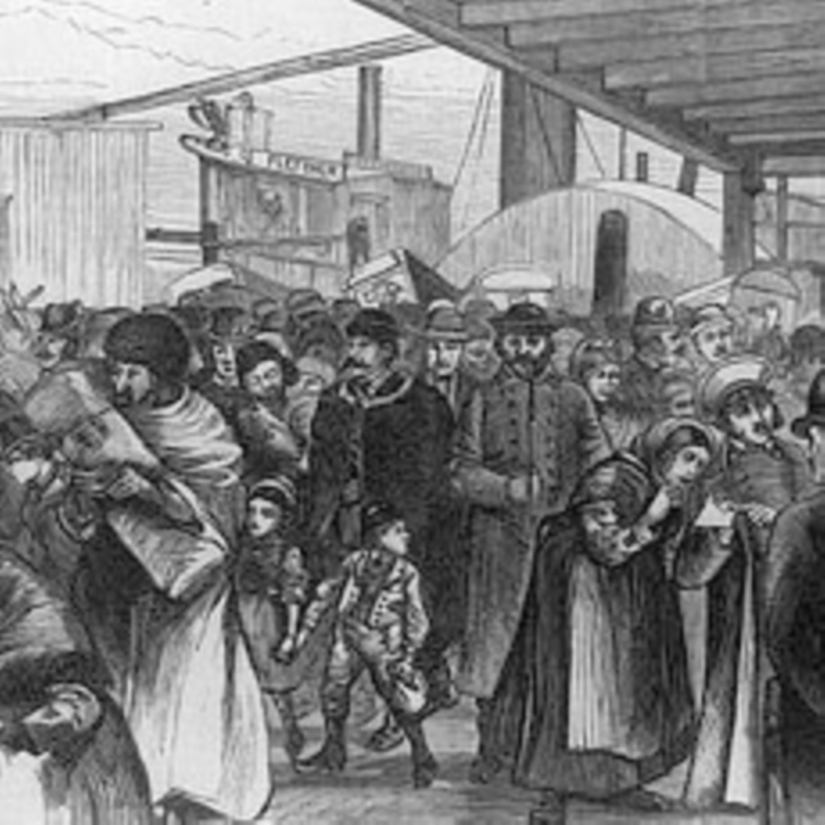 American History: Immigrants From Europe Seek a Better Life in a New