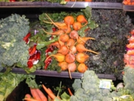 Twenty-five percent of vegetables and 23 percent of fruit are wasted in the US.